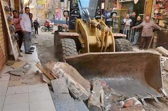 حي الأزبكية ينفذ حملات للحفاظ على تطوير الشوارع ورفع الإشغالات