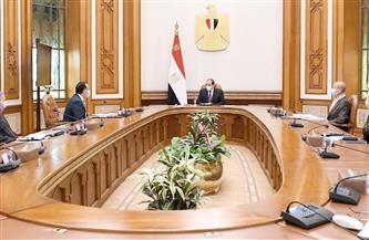 الرئيس السيسي يوجه بتوطين صناعة السيارات الكهربائية والصناعات المغذية بمصر