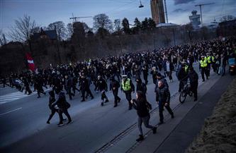 مئات الأشخاص يتظاهرون ضد قيود كورونا في العاصمة الدنماركية