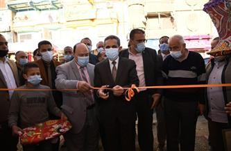 """محافظ الغربية يفتتح معرض """"أهلًا رمضان"""" للسلع الغذائية في زفتى  صور"""