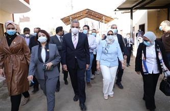 وزيرة الصحة: مضاعفة أعداد مراكز تلقي اللقاح بمحافظات الصعيد الفترة المقبلة |صور