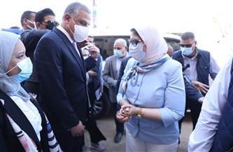 وزيرة الصحة: إنشاء مستشفى سوهاج العام الجديد وفقًا لمعايير منظومة التأمين الصحي الشامل