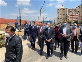 محافظ القليوبية ورئيس التنسيق الحضاري يتفقدان أعمال تطوير كورنيش بنها | صور