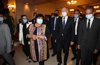 الرئيس التونسي: مصر ستظل زاخرة بفنونها وتراثها وثقافتها العريقة| صور