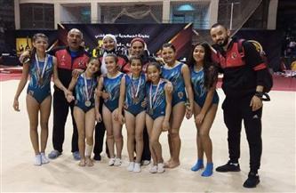 «5 ميداليات» في بطولة الجمهورية لناشئات جمباز الأهلي