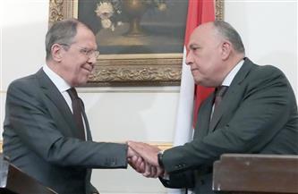 مصر وروسيا يؤكدان التنسيق بينهما لإنهاء التأزُم الحالي بقطاع غزة وإفساح المجال للتحرك السياسي