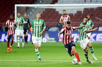 ريال بيتيس يُشعل الصراع على اللقب بإرغام أتلتيكو على التعادل