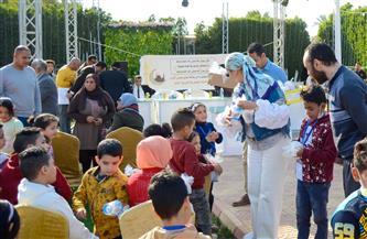 برلمانية تشيد بحرص الرئيس السيسي وقرينته على دعم ورعاية الأيتام  / صور