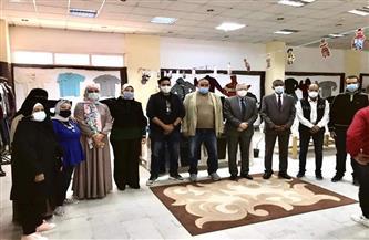جامعة حلوان تنظم معرض الخير الـ19 |صور
