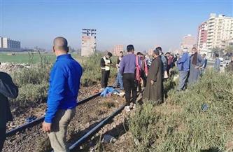 """مصرع طالب دهسًا تحت عجلات قطار """"منوف - طنطا"""" بمحطة سرس الليان"""