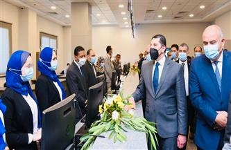 افتتاح أول مركز متكامل لخدمات المستثمرين بقنا | صور