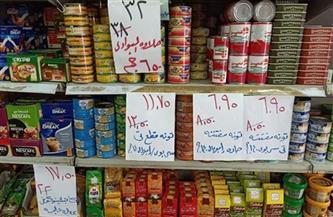 رئيس الشئون الاقتصادية والتجارية بالإسماعيلية يتفقد المعرض الدائم للسلع الغذائية