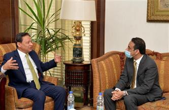 رئيس المجلس الأعلى لتنظيم الإعلام يستقبل السفير العماني بالقاهرة| صور