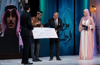 """مصري يحصد المركز الثاني في المسابقة العالمية """"مداح الرسول""""   صور"""