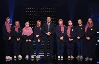 «القومي للمرأة» يهنئ طالبات مدرسة منفلوط الثانوية لحصولهن على المركز الثاني بأحد برامج المسابقات