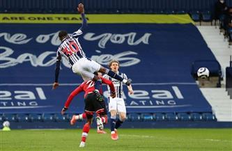 ويست بروميتش يهزم ساوثهامبتون بثلاثية في الدوري الإنجليزي