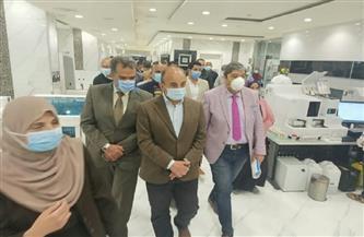 رئيس جامعة الزقازيق يتفقد المستشفيات الجامعية | صور