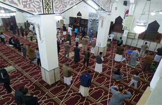 «أوقاف مطروح»: أول صلاة تراويح بالمساجد بدون مخالفات | صور