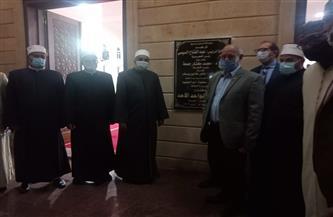 جابر طايع يفتتح مسجد الواحد الأحد عقب صلاة التراويح اليوم |صور