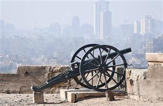 أقدم مدفع إفطار يطل من فوق أسوار قلعة صلاح الدين | صور