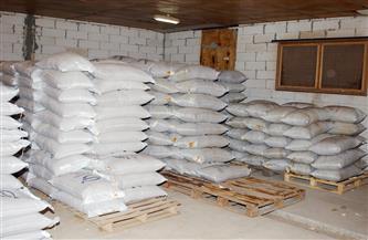 ضبط مصنع غير مرخص لإنتاج الأعلاف بالبحيرة