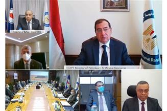 طارق الملا : طفرة كبيرة في أنشطة شركات قطاع البترول داخل وخارج مصر