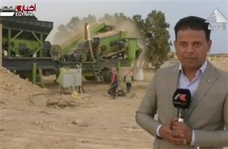 """تقرير تليفزيوني يكشف تفاصيل خط الإنتاج """"قادر ١"""" للسلت والطين بالصحراء الغربية بمطروح"""