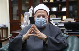 """المفتي لـ""""بوابة الأهرام"""" حول تسييس الفتوى: """"الإخوان"""" تصفنا بعلماء السلطان.. ونفخر بالوقوف في صف الوطن"""