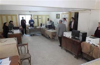 مديرتعليم المنوفية يتفقد منافذ تقديم الخدمة للمواطنين والإدارات النوعية | صور