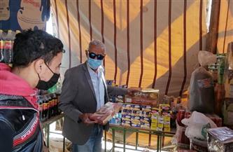 رئيس مركز صدفا يتابع تبطين ترعة بني فيز.. ويتفقد معرض أهلا رمضان |صور