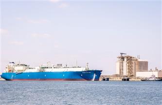 ميناء دمياط يستقبل ناقلة غاز لنقل شحنة إلى باكستان | صور