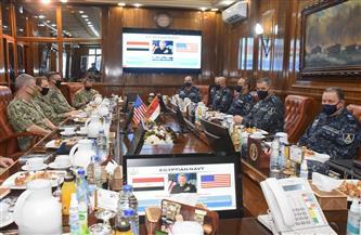 الفريق أحمد خالد يلتقي قائد القوات البحرية للقيادة المركزية الأمريكية وقائد الأسطول الخامس الأمريكي | صور
