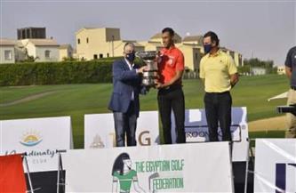 التونسى أمين ناصر يسجل اسمه فى القائمة الذهبية لبطولة مصر المفتوحة للجولف