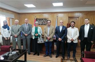 «الشربيني» يبحث آفاق التعاون بين جامعة الأزهر ومعهد تكنولوجيا المعلومات والاتصالات