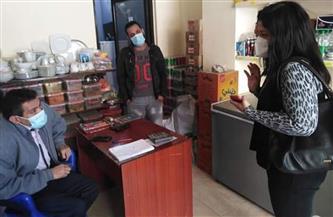 حملة لتوعية المواطنين بارتداء الكمامات وتطبيق الإجراءات الاحترازية في الغردقة | صور
