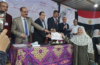 «المصريين الأحرار» يكرم الأمهات ورائدات العمل العام بعين شمس | صور