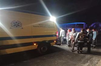 «الصحة» تكشف عن حالة المصابين في حادث تصادم أتوبيس وسيارة نقل بأسيوط