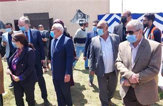 محافظ بورسعيد وسفير الاتحاد الأوروبى يشيدان بأعمال تطوير مركز شباب القابوطي| صور