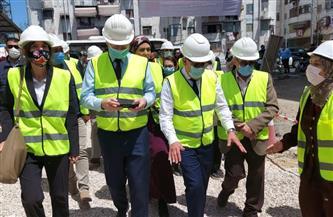 محافظ بورسعيد وسفير الاتحاد الأوروبى يتفقدان مشروع إحلال شبكات الصرف الصحي | صور