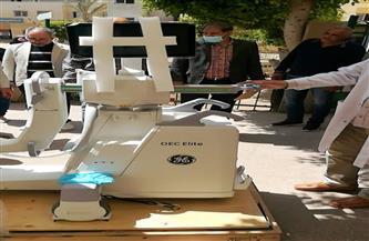 وزارة الصحة تدعم مستشفى السنبلاوين بجهاز تكلفته 2 مليون جنيه | صور