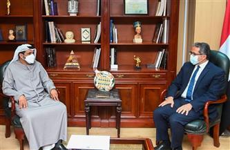 وزير السياحة والآثار يستقبل سفير الإمارات الجديد بالقاهرة