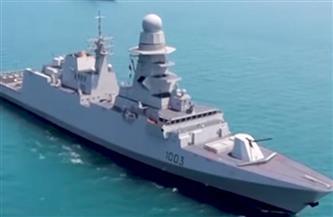 """منظومة تسليح متطورة.. المتحدث العسكري ينشر معلومات حول الفرقاطة """"برنيس"""" التي انضمت للقوات البحرية"""