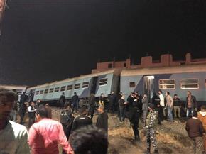 النائب العام يفتح تحقيقًا عاجلاً في حادث خروج قطار بمنيا القمح عن مساره