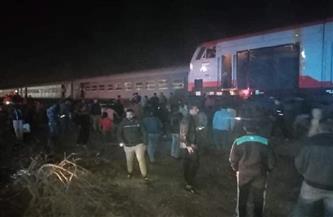 القصة الكاملة لحادث خروج قطار 339 عن مساره في منيا القمح