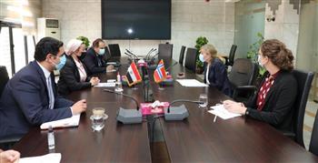 وزيرة البيئة تناقش مع سفيرة النرويج التعاون للدفع بمسار اتفاقية التنوع البيولوجي| صور