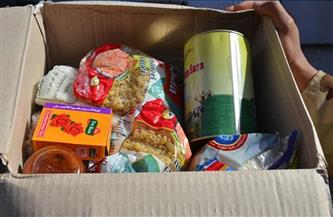 توزيع ألف كرتونة مواد غذائية على الأسر الأولى بالرعاية في حوش عيسى