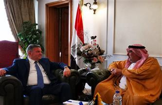 وزير قطاع الأعمال العام يلتقي رئيس الاتحاد العربي للاستثمار والتطوير العقاري لبحث فرص التعاون