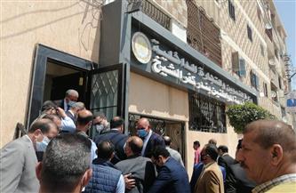 وزير التموين ومحافظ كفر الشيخ يفتتحان مركز خدمة المواطنين التمويني المطور   صور
