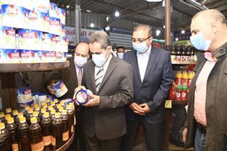 """محافظ الغربية يفتتح معرض """"أهلاً رمضان"""" للسلع الغذائية في سمنود  صور"""