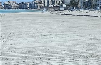 مدينة مرسى مطروح تواصل رفع كفاءة الشواطئ استعدادًا لفصل الصيف| صور